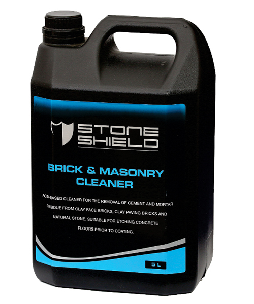 Stoneshield Brick & Masonry Cleaner Inhibited acid-based