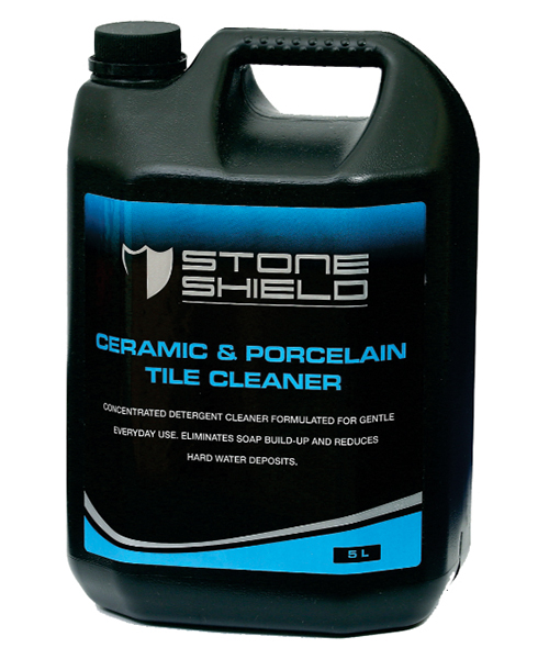 Stoneshield Ceramic & Porcelain Tile Cleaner is a concentrated detergent cleaner formulated for gentle everyday use