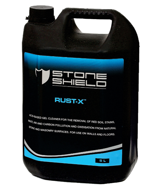 Rust-x™ An acid-based gel cleaner Floors HQ - Stoneshield