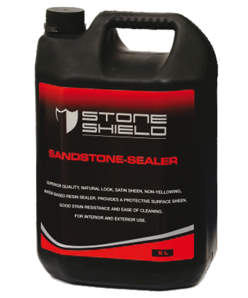 Stoneshield Sandstone-Sealer is a superior quality natural look, non-yellowing water-based resin sealer that provides a protective surface sheen, good stain resistance and ease of cleaning
