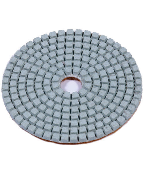 White Resin Polishing Pads (Stone) - Eco