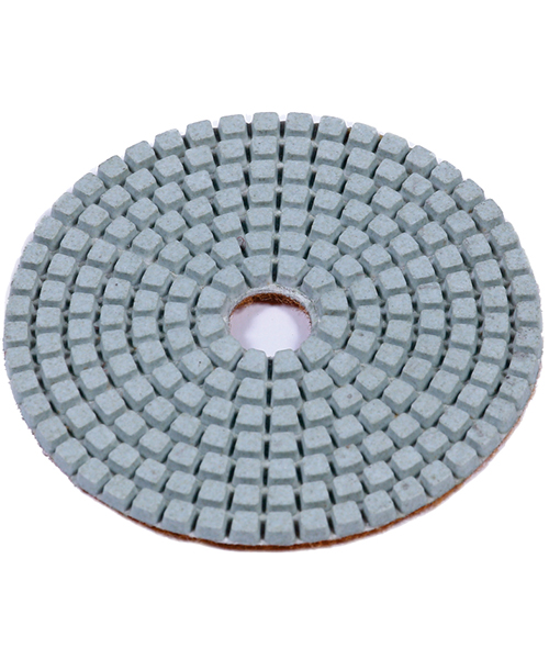 White Resin Polishing Pads (Stone & Concrete) - Contractor