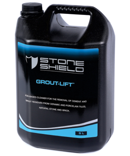 Grout-Lift™ is an inhibited acid-based cleaner for the removal of cement